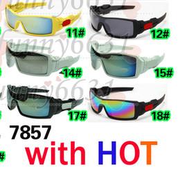 Wholesale Eyeglass Fashion - 10PCS SUMMER cycling sports dazzling eyeglasses fashion sunglasses women men reflective coating sun glasses 21colors AAA free shipping