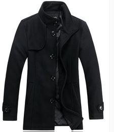 Wholesale Cashmere Overcoats Men - Zilli men's new men's menswear woolen overcoat, fashion casual coat