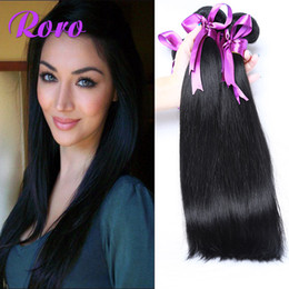 Wholesale Virgin Cambodian Hair 5a - Brazilian Hair Peruvian Indian Malaysian European Cambodian Virgin Straight Bundle Hair Weave Human Hair Extensions 3 Pcs Hair Bella 5A
