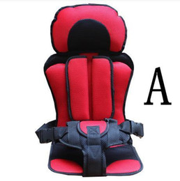 Wholesale Babies Harness - 2016 Portable baby safety seat Children's Chairs in the Car,Updated Version,Thickening Sponge Kids Car Seats