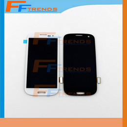 Wholesale Galaxy S3 Assembly - for Samsung Galaxy S3 i9300 LCD Touch Screen & Digitizer Assembly i9305 L710 R530 i535 T999 i747 100% Test Original LCD Top Quality