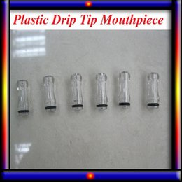 Wholesale Ego Cig Tips - Plastic Drip Tips transparent Colorful Mouthpiece Plastic Drip Tips for EE2  Vivi Nova  DCT 510 for ego starter kit e cig