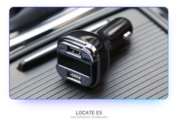 Wholesale United Displays - 2017 Newest Car GPS locate With Charger LED display Dual USB Battery Voltage Monitoring Intelligent Compatible DC5V 4.2A
