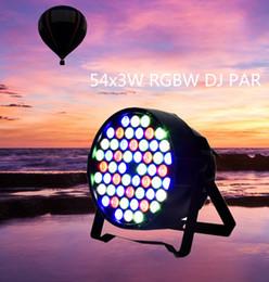 Wholesale Dmx Stage Light Bar - New Disco Equipment 54x3W Led DMX Par Led RGBW LED Par Light DJ Par in Home party&DJ stage lighting for Club Bar party KTV