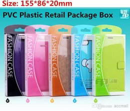 Wholesale Cove Case S4 - Universal PVC Plastic Retail Package Packaging Box For iPhone 4 4S 5 5S 5C Samsuang S3 S4 S5 Note 2 3 HTC Nokia Sony Phone Leather Case Cove