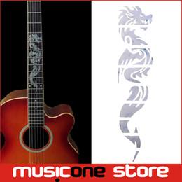 Wholesale Dragon Guitars - Guitar Inlay Stickers Dragon Guitarra Fretboard Decals  Markers For Guitar Fret Neck MU1288-9