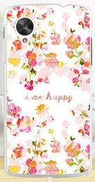 Wholesale Colorful Nexus Cases - Wholesale-2015 Colorful Brilliant Rose Peony Flowers Background phone case hard Back cover Skin Shell for LG Nexus 5