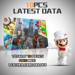 Wholesale smash toys - 10pcs   set. Mario 8 deluxe label NFC postcards set-Super Brothers Smash for the NS switch