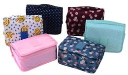 Wholesale colorful bedding - 2016 Hot colorful makeup bag fashion Waterproof travel bag cosmetic organizer make up storage for women free shipping