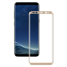 Wholesale Tempered Glass For S6 - iBaby888 For Samsung Galaxy S8+ Note8 Tempered Glass 3D 9H Full Screen Cover Explosion-proof Screen Protector Film for S8 S7 EDGE S6 Note 8