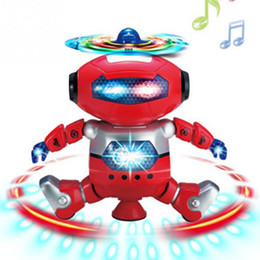 Wholesale Electronics Dance - Smart Space Dance Robot Electronic Walking Toys With Music Light Gift For Kids Astronaut Toy to Child