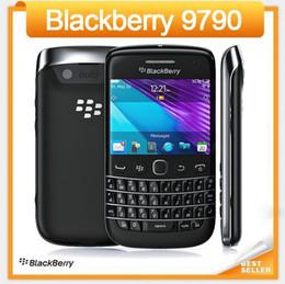 Wholesale Blackberry Bold Back - Original 9790 Unlocked Blackberry Bold 9790 Mobile Phone GPS 5.0MP 8GB ROM Touchscreen+QWERTY Keyboard Refurbished cellphone
