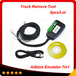 Wholesale Scania Adblue - 2015 Adblue Emulation Module Support Reprogram Erase Adblue Emulator 7In1 Volvo DAF MB MAN Scania Iveco Renault for Multibrand truck