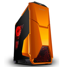 Argentina Wholesale-2016 nueva caja de la computadora de escritorio del juego para la PC, placa de los 0.7MM, Freeshipping supplier mid pc case Suministro