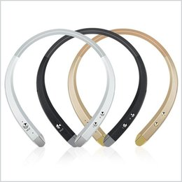 Wholesale Bluetooth Headset Smartphone - HBS 913 Tone Infinim Sport Bluetooth Headphone HBS-913 HBS913 Neckband Stereo Earphone with Microphone Headset for Smartphone MQ20