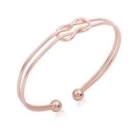 Wholesale Hatching Fish - Extremely Simple Wind Geometry Stereo Intersection Double-deck Hatch Bracelet Wholesale 2018 New Fashion Jewelry Bracelets For Women