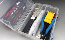 Canada 13 pcs / lot NOUVELLE mise à niveau outils COMBO échelle militaire gundam assemblage modèle kits d'outils + électrique rectifieuse + boîte de rangement COMBO Offre
