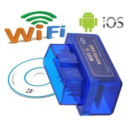 2016 Nouvel arrivé Super Mini ELM327 WIFI OBDII Auto Auto Diagnostic Scan Tool pour iPhone iPad iOS / Android MINI WIFI ELM 327 à partir de fabricateur