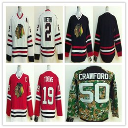 Wholesale Cheap Sport Jerseys Authentic - Cheap Chicago Blackhawks Youth Men Women 2 Duncan Keith Best quality Authentic Ice hockey stitching Jerseys Sports Embroider jersey