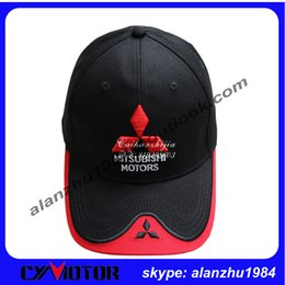 Wholesale Visors Motorcycle Shipping - Wholesale-Outdoor Men enbroider cap male sports cotton baseball caps car motorcycle motors moto race cycling visors hat free shipping