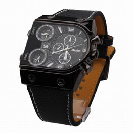 Wholesale Oulm Military - OULM 9315 Sports Watches men luxury brand double movement military casual watch relogio masculino quartz watches