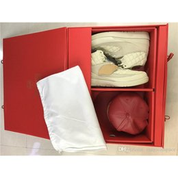 Wholesale Box Ends - Original Quality Just Don X C Air Retro 2 Beach 2S II Men High-end Basketball Shoes Sneaker With Original Box Red Hat 834825-250
