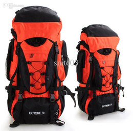 Wholesale Large Travel Hiking Backpacks - Wholesale-Large Capacity 70L Travel Backpacks 2015 New Outdoor Camping Hiking Climbing Sports Shoulder Bags Paternity Bags Free Shipping