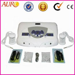 Wholesale Detoxification Machine - detoxification ion cleanse machine treatment foot and have MP3 player Dual System Detox Machine foot spa AU-04