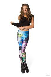 Wholesale Leggings Printed Trend - Lgs-3512 New women girls leggings trend explosion star Digital printing leggings cartoon and animation leggings