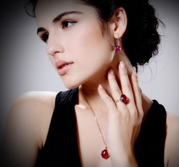 Wholesale Wholesale Ruby Pendant - High quality 925 silver ring female forefinger fashion ruby mouth ring restoring ancient ways is Europe and the United States long pendant j