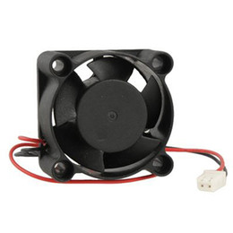 Wholesale Dc 12v Brushless Cooling Fan - Wholesale- 40 x 40 x 20mm 4020 5 Blade Brushless DC 12V Axial Cooling Fan