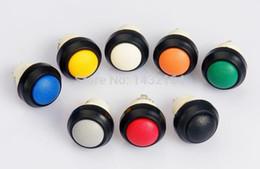 Botão interruptor ip67 on-line-30 pcs Botão redondo interruptor de botão Momentary IP67 à prova d 'água
