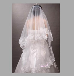Wholesale High Fashion Wedding Gloves - Hot Sell Womens Fashion Gloves Bustle Veil Three Piece High Grade Bride Wedding Gloves Accessories Package