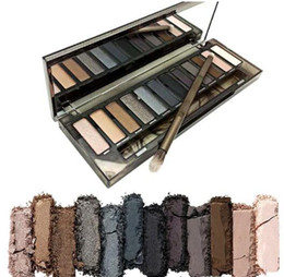 Wholesale Face Paint Palette - HOT Makeup NUDE Smoky Palette 12 Color Eyeshadow Palette 12*1.3g face paint palette High quality
