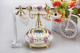 Wholesale Old Antique Telephones - Wholesale-old style ceramic antique telephone