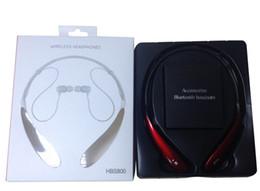Deutschland HBS-800 Bluetooth Sport Headset Wireless HBS 800 Kopfhörer Kopfhörer Bluetooth Sport Stereo Headsets für LG iPhone Samsung Handy Versorgung