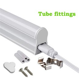 Wholesale T8 Led Tube 22w - 1ft 6W 2ft 3ft T5 Led Tube Lights 4ft 22W LED Tubes SMD 2835 LED Fluorescent Light Tubes Warm Natrual Cool White AC85-265V