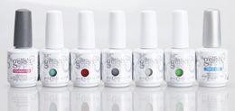 Wholesale top color gelish - Top quality Harmony Gelish 440 Colors 15ml Gel Polish Nail Accessories UV Color Gel Soak Off Nail Gel for Fedex AFFB11