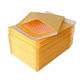Sac à main kraft en Ligne-Papier Emballage Sacs Petit Kraft Bubble Mailer Enveloppes Rembourrées Sacs Mailers Auto Emballage Emballage Paquet Boîte Vente en gros - 0007PACK