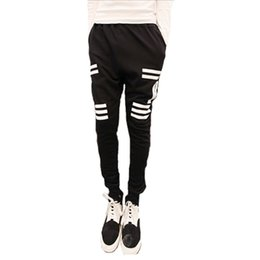 Wholesale New Comfort Pants - Wholesale-Hot New Arrival Mens Casual Comfort Harem Baggy Hip Hop Dance Jogger Sport Sweat Pants Trousers