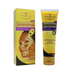 Wholesale Cream Spa - 24K Gold Mask Collagen Spa Salon Moisturising Acne Treatment Acne Treatment Blackhead Remover Face Care Gold Mask