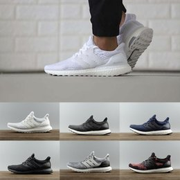 Wholesale New Stock Shoes - 2018 New stock arrival Ultraboost 3.0 white CNY Oreo blue running shoes men women training Enhance running shoes Size EUR 36-46