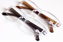 Wholesale Read Design - Wholesale-Fashion Plastic Reading Glasses, TR90 Mini Rimless Presbyopic Pocket Reader, Design Optics Reading Glasses for Men & Women