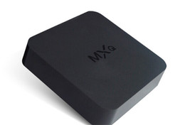 Quad core tv box 4.4 online-MXQ TV BOX Amlogic S805 Quad Core Android 4.4 1GB 8GB Media Player Rooted Online Update MXQ Android TV Box