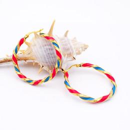 Wholesale Type Tops For Women - Wholesale- The Three Styles New Fashion Earring Jewelry Earrings For Women Top Quality Stainless Steel Twist Type Women Hoop Earrings