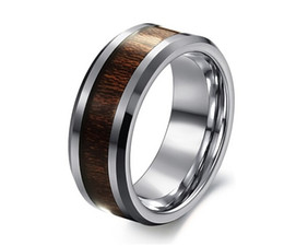 Wholesale Cheap Titanium Wedding Bands - Free Shipping Cheap Price Jewelry USA Brazil Russia Hot Sales His Her 8MM Dragon Tungsten Ring Mens Wedding Band