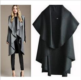 Wholesale Elegant Noble - Free Shipping Hot Sale Women's Fashion Wool Coat, Ladies' Noble Elegant Cape Shawl. ladies poncho wrap scarves coat 2015 new