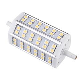 2019 al por mayor reflectores de energía solar 1 UNIDS / LOTE Blanco Cálido Blanco Ahorro de energía LED R7S 7W 36LEDs 5050 SMD Bombilla Lámpara 100-240V Reemplace el reflector halógeno Luz LED de alto brillo