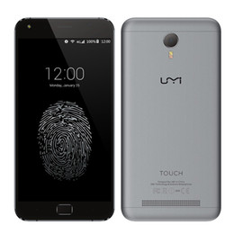 Wholesale Smartphone Umi - New Arrival UMI Touch FDD LTE 4G Smartphone 5.5 inch FHD Android 6.0 MTK6753 Octa Core 2.4 GHz 3GB RAM 16GB ROM 13.0MP Cell Phones