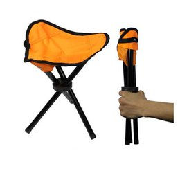 Wholesale Wholesale Foldable Chair - Free shipping Camping Folding Portable Chair Outdoor Waterproof Foldable Aluminum Alloy Tube For Fishing Beach Hiking Picnic Wholeasle